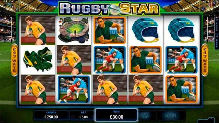 tragamonedas Rugby Star